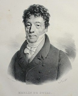 Philippe-Antoine Merlin de Douai French politician