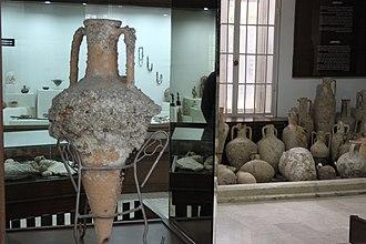 Mersin Museum - Image: Mersin History Museum first floor 10