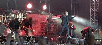 Metaltown Festival - Slipknot performing at Metaltown Festival in 2009.