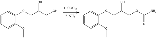 Methocarbamol synthesis.png