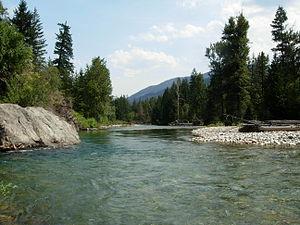 Methow River - The Methow River at Mazama