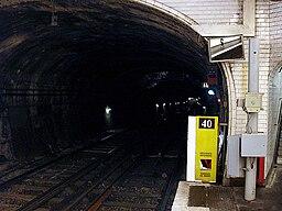 Metro de Paris - Ligne 7bis - Bolivar 10