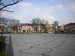 Main Square with the Czartoryski Palace in the background