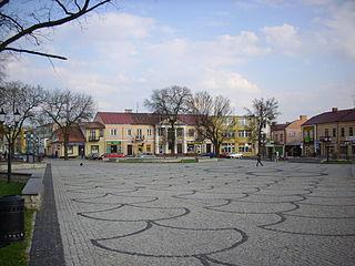 Międzyrzec Podlaski Place in Lublin Voivodeship, Poland