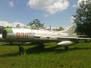 Mikoyan-Gurevich MiG-19 Air superiority fighter aircraft family