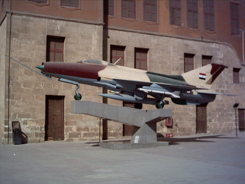 مصر العروبة وحرب أكتوبر - صفحة 2 800px-MiG-21F_Military_Museum_of_Egypt