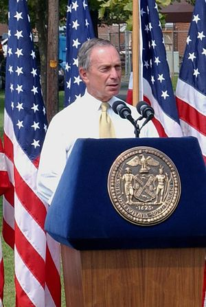 Michael Bloomberg - Bloomberg delivering a speech