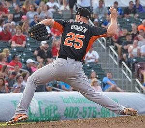 Michael Bowden (baseball) - Image: Michael Bowden, 2015 Triple A All Star Game