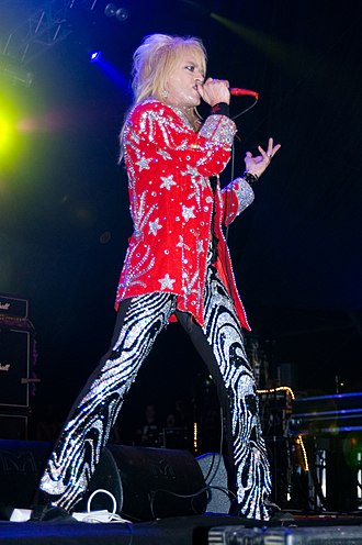 Michael Monroe - Michael Monroe of Hanoi Rocks performing at the Ilosaarirock festival on the 2008 in Joensuu, Finland