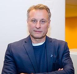 Michael Nyqvist vid premiären av filmen Colonia i Österrike 2016.