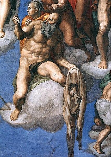 File:Michelangelo, Giudizio Universale 31.jpg