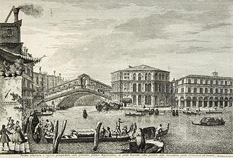 Michele Marieschi - Rialto Bridge
