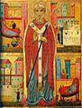 Michele di Baldovino, Dossale San Nicola e storie della sua vita, II meta del XIII secolo, Peccioli, Prepositura di San Verano.jpg