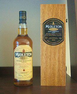 Midleton Very Rare premium Irish whiskey