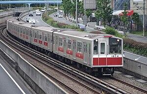 Midōsuji Line - Image: Midousujisen 10kei 1