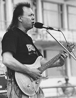 Mike Deasy in Pärnu, Estonia 1992