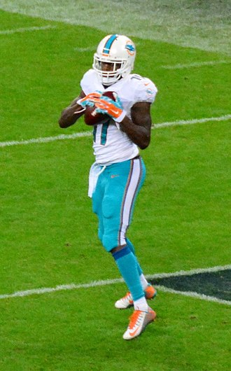 Mike Wallace (American football) - Wallace with the Miami Dolphins in 2014