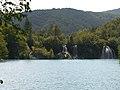 Milanovac Falls and lake Milanovac.jpg
