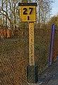 Milepost, Betchworth Station - geograph.org.uk - 1805204.jpg