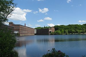 Amory Maynard - Image: Mill Pond, Maynard MA
