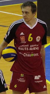 Miloš Terzić Serbian volleyball player
