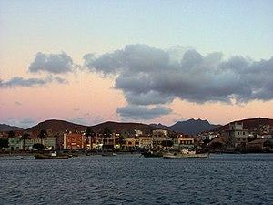 Mindelo - Harbor of Mindelo