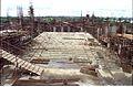 Mini Auditorium Under Construction - Convention Centre Complex - Science City - Calcutta 1994-10-07 1048.JPG