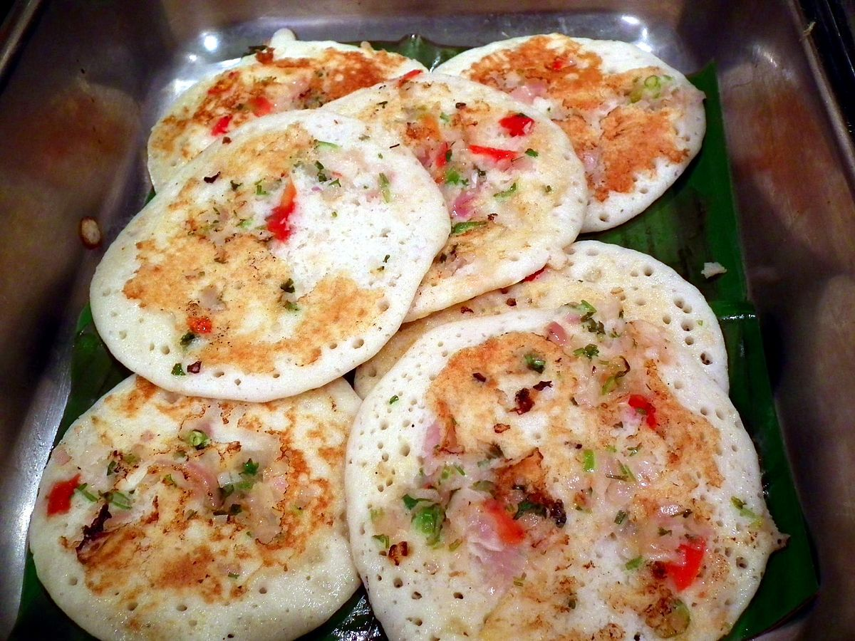 Uttapam wikipedia for Aharam traditional cuisine of tamil nadu
