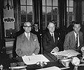 Ministersconferentie van de West Europese Unie in Den Haag De Britse delegatie , Bestanddeelnr 915-6726.jpg