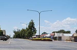Minlaton, South Australia - Image: Minlaton Main Street