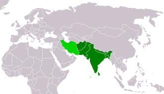 Mittlerer osten wikipedia for Bengala asia