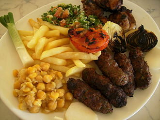 Lebanese cuisine - An array of Lebanese cuisine.