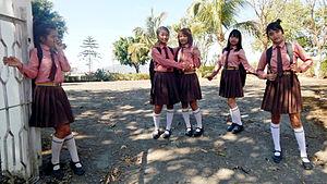 Hnahthial - Nuchhungi English medium schoolgirls
