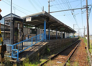 Mitsumatsu Station (Osaka) Railway station in Kaizuka, Osaka Prefecture, Japan
