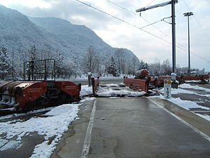 Modalohr - Modalohr wagon in loading position
