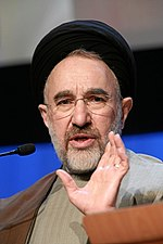 Mohammad Khatami, reformist President of Iran from 1997 to 2005.