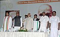 Mohd. Hamid Ansari, the Governor of Kerala, Shri Nikhil Kumar, the Chief Minister of Kerala, Shri Oommen Chandy and the Minister of State for Human Resource Development, Dr. Shashi Tharoor.jpg