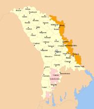 moldavien karta Moldavien – Wikipedia moldavien karta