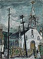 Molly Bobak - Roman Catholic Church Parade, Ottawa (CWM 19710261-1624).jpeg