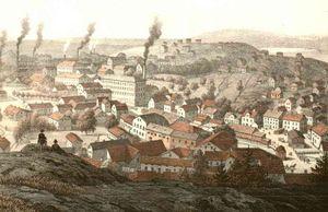 Mölndal - Mölndal in 1870