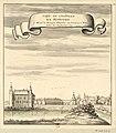 Monceau-sur-Sambre - vue du château - 1690.jpg