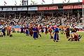 Mongolskie zapasy na stadionie w Ułan Bator 15.JPG