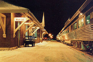 Mont-Joli - Via-Rail Station