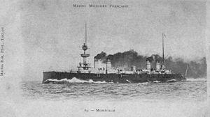 French cruiser Montcalm (1900) - Image: Montcalm Marius Bar