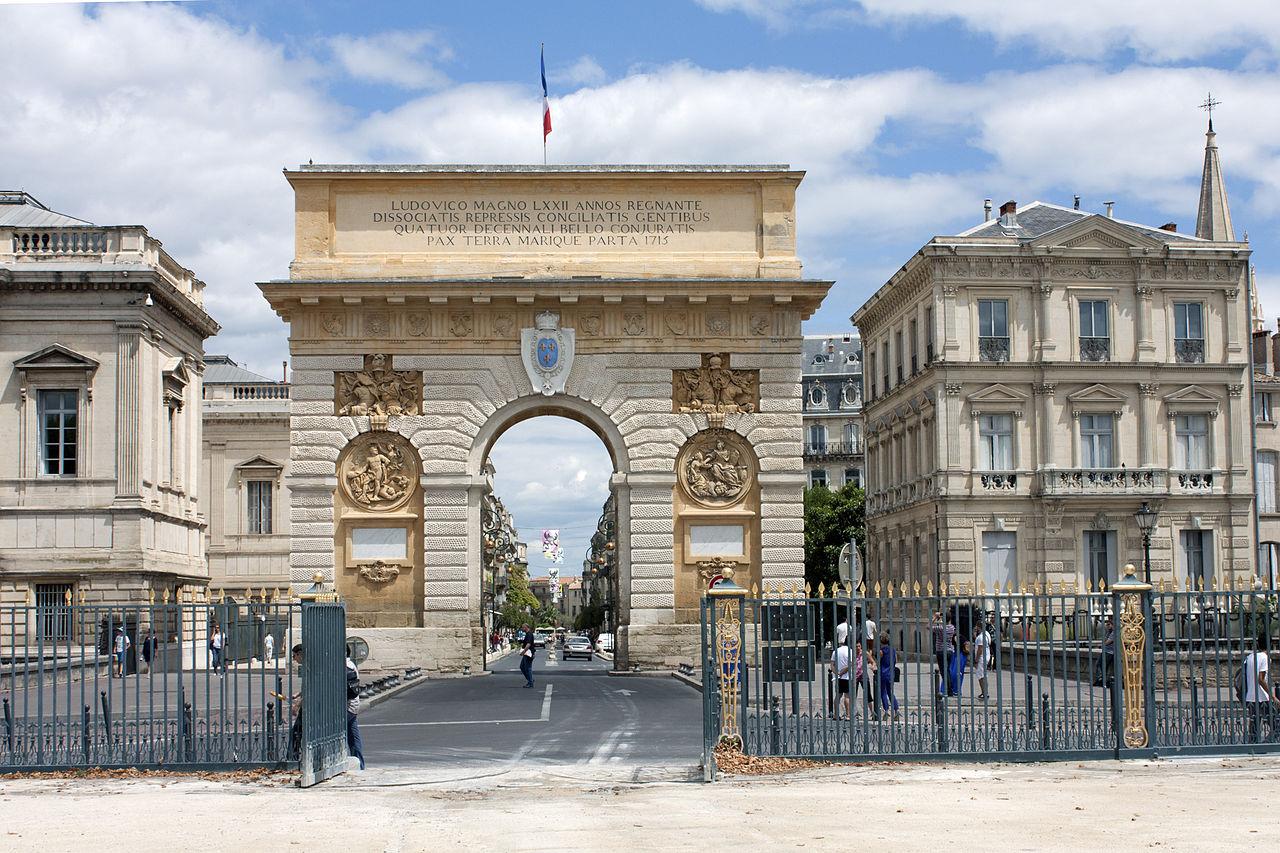 File montpellier arc de triomphe du peyrou 2012 07 wikimedia commons - Arc de triomphe montpellier ...