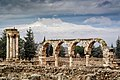 Monuments of of the Umayyad city of Anjar.jpg