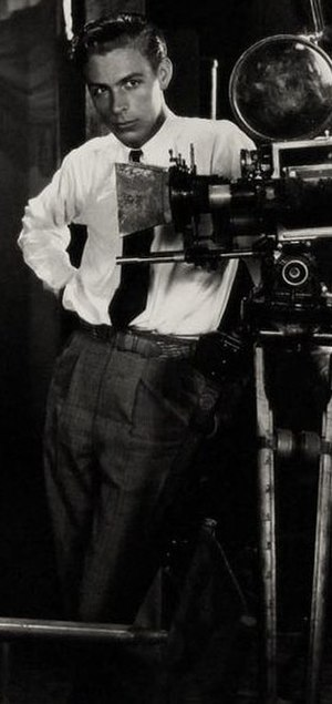 Edward Cronjager - Cronjager on the set of the 1928 film Moran of the Marines