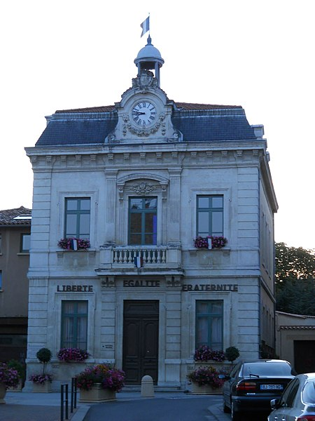 Town hall, Mornant, Rhône, France