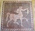 Mosaico pavimentale con centauro, da rodi sud, 300-270 ac. ca. 02.JPG
