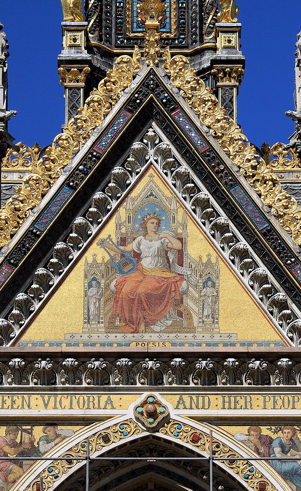 Mosaics at Albert Memorial in London, spring 2013 (6)
